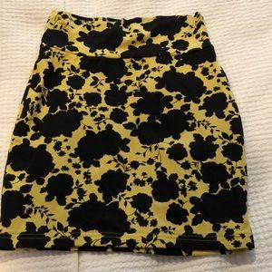 Stretchy tube skirt